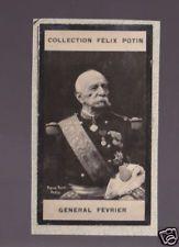 GENERAL FEVRIER France 1823-1908 FELIX POTIN CARD