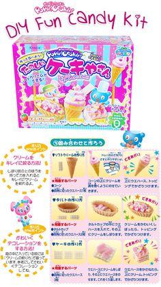 Popin' cookin DIY Fun Candy Kit