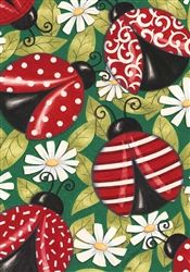 Decorative Garden Flag - another pinner suggested designs for painted rocks