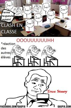 Clash en classe
