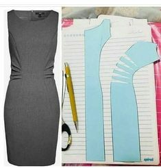 Pdf Sewing Patterns Dress Patterns Sewing Clothes Diy Clothes Pattern Drafting Pattern Making Sewing Techniques Dressmaking Pattern Design Coat Patterns, Dress Sewing Patterns, Clothing Patterns, Shirt Patterns, Coat Pattern Sewing, Pattern Drafting, Fashion Sewing, Diy Fashion, Fashion Coat