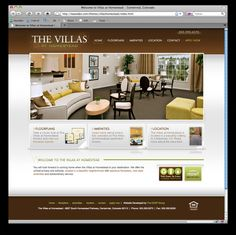website layout
