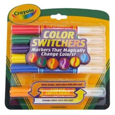 Crayola Markers Color Changing Magic Color Art Supplies Assorted Kids Craft New #Crayola