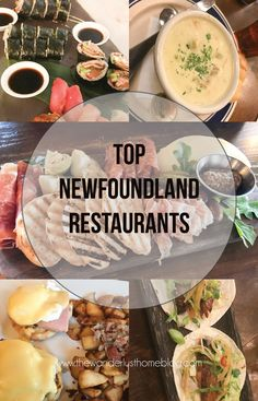 Top Newfoundland Restaurants, where to eat in Newfoundland, Newfoundland Food, Places to eat newfoundland #newfoundland #newfoundlandtravel #Food