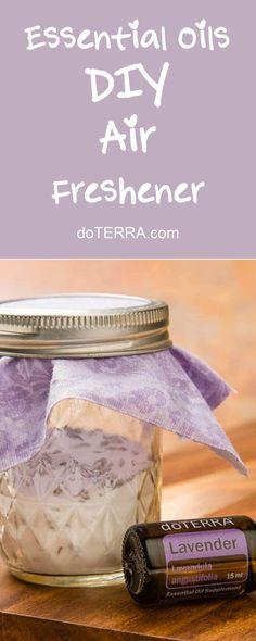 doTERRA Essential Oil DIY Air Freshener Recipe doTERRA Cleaning Recipes