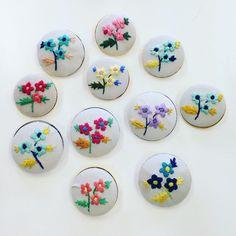 NHK青山の参加者さんの作品! 色の組み合わせが、それぞれ工夫されていますねー!