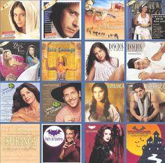 Capas de LPs das novelas da Rede Globo ( 2000 a 2004 )