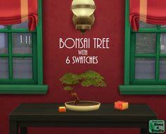 Lana CC Finds - Bonsai Tree by orangemittens (Sims 4) It has six...