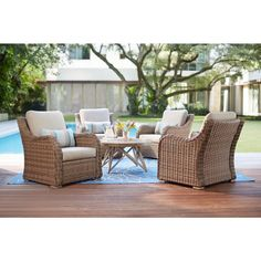 912 best wicker patio furniture images in 2019 outdoor wicker rh pinterest com