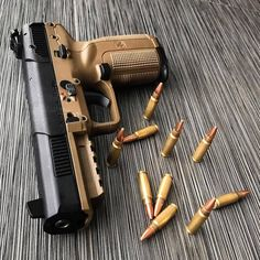 FN Five Seven FDE 5.7x28 - Loading that magazine is a pain! Get your Magazine speedloader today! http://www.amazon.com/shops/raeind