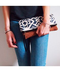 Navajo Clutch Large- Ladies Bags and Purses Online Shopping Australia
