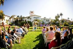 Venue Review: Santa Barbara County Courthouse Ceremony, Reception at the Canary Hotel