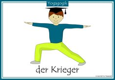 Kinderyoga Flashcards Krieger