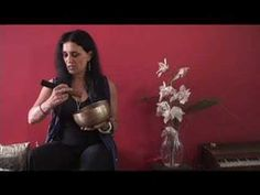 How to Play a Singing Bowl - YouTube