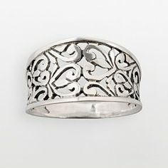 Sterling silver filigree ring on shopstyle.com