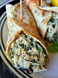 Chicken Florentine Wonders - THM Friendly {FP}