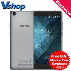원래 blackview a8 최대 4 그램 휴대 전화 6.0 안드로이드 2 기가바이트 ram 16 기가바이트 ROM 쿼드 코어 720 마력 8MP 카메라 듀얼 SIM 5.5 인치 휴대 전화