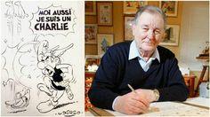 Kunnianosoituksena Asterix <i> Charlie Hebdo </ i>, teki torstaina ja julkaissut <i> Le Figaro </ i>.