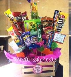 Food Bouquet, Diy Bouquet, Candy Bouquet, Bf Gifts, Cute Gifts, Ginger Sweets, Chocolate Bouquet Diy, Happy 16th Birthday, Boyfriend Crafts