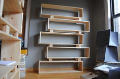 Chicago: Tall Cantilevered Bookshelf $250 - http://furnishlyst.com/listings/1144096