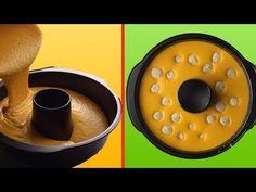 Da carote e palline al cacao ecco una mega torta! - YouTube
