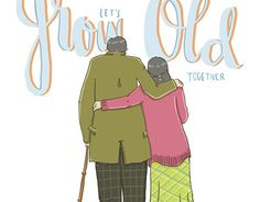 """Check out new work on my @Behance portfolio: """"Let's Grow Old Together"""" http://be.net/gallery/40911707/Lets-Grow-Old-Together"""