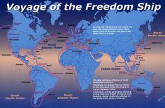 Freedom Ship, una ciudad flotante para circunnavegar la Tierra continuamente