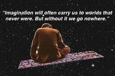 Take a journey to outer space with Carl Sagan (20 Photos)