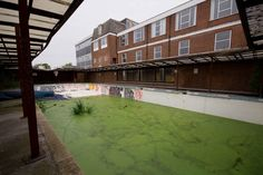 My old school swimming pool. Holy Trinity Convent School, Bromley - 2012