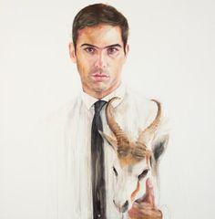 Cherry Hood: Michael Zavros :: Archibald Prize 2010 :: Art Gallery NSW