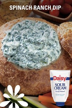 Four simple ingredients + five minutes prep time = one delicious dip for your Easter celebration!