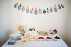 1st birthday waffle party
