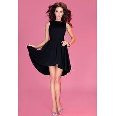 Rochie neagra de seara scurta #rochieelegante #rochiideseara