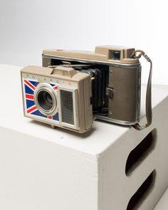 Union Jack Polaroid Land Camera