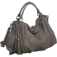 "I <3  Hobo Purses!!! Purse Boutique: Grey Oversized Melie Bianco ""Miley"" Hobo Handbags, Purses"