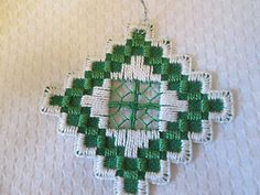 Hardanger Ornament Norwegian Embroidery Cut Work