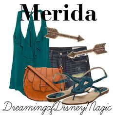 Merida - good summer outfit, perfect for walking around disney world!
