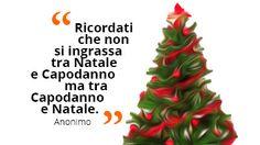 Ricordati che non si ingrassa tra Natale e Capodanno ma tra Capodanno e Natale. Anonimo #raiexpo #natale #expo2015 #cibo