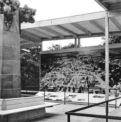 Max Bill's Exhibition pavilion of the City of Ulm at the National Exhibition of Baden/Württemberg –Stuttgart, Germany (1955) – SOCKS