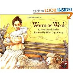FIAR book Betsy Ward's three children are cold. It is 1803, and they have traveled by covered wagon to the dark woods of Ohio. After the family shivers through the icy first winter in a drafty log cabin, Betsy is determined to get wool to make warm clothing for the children. She seizes upon a chance to buy eight bedraggled sheep. But it's harder than she expected to raise sheep on the frontier. Will Betsy be able to keep her sheep alive?