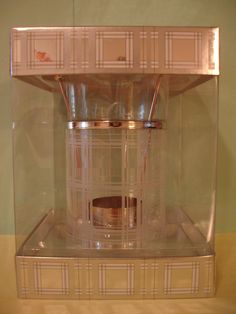 Bath & Body Works Etched Glass Home Oil Warmer Burner Rare