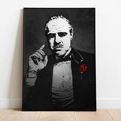 Don Corleone Poster - A2 = 16x23