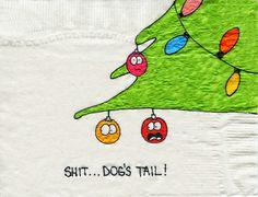 Christmas Napkin-y Countdown... 12