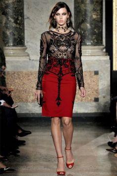 Gothic Gypsy Fashion Trend Emilio Pucci Milan