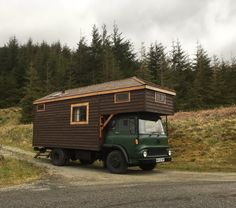 Bedford TK rolling home house truck motorhome