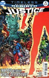 Mild Mannered Reviews  Justice League #19
