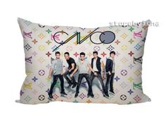NEW-CNCO-BOY-BAND-Zippered-Pillow-Case-16-034-x-24-034-2-sides-Cushion-Cover
