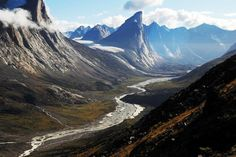 Mount Thor, Canada  Famed for being the highest vertical drop in the world, Mount Thor is just as deadly as it is beautiful. Apparently it's one of the most popular rock climbing sites in the world, but with a potential drop of over 4000 feet, I can't imagine why…(!)