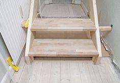 Sådan bygger du nemt en gør-del-selv-trappe   idényt Dyi, Shelves, Home Decor, Shelving, Homemade Home Decor, Shelf, Open Shelving, Interior Design, Home Interiors