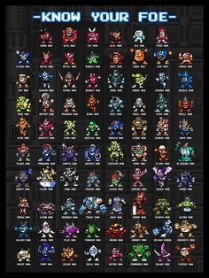 Classic Video Games, Retro Video Games, Video Game Art, Mega Man, Megaman 11, Megaman Series, Minecraft Banner Designs, Video Game Sprites, Pix Art